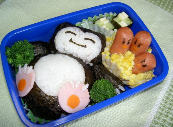 japanese people have the coolest lunches.